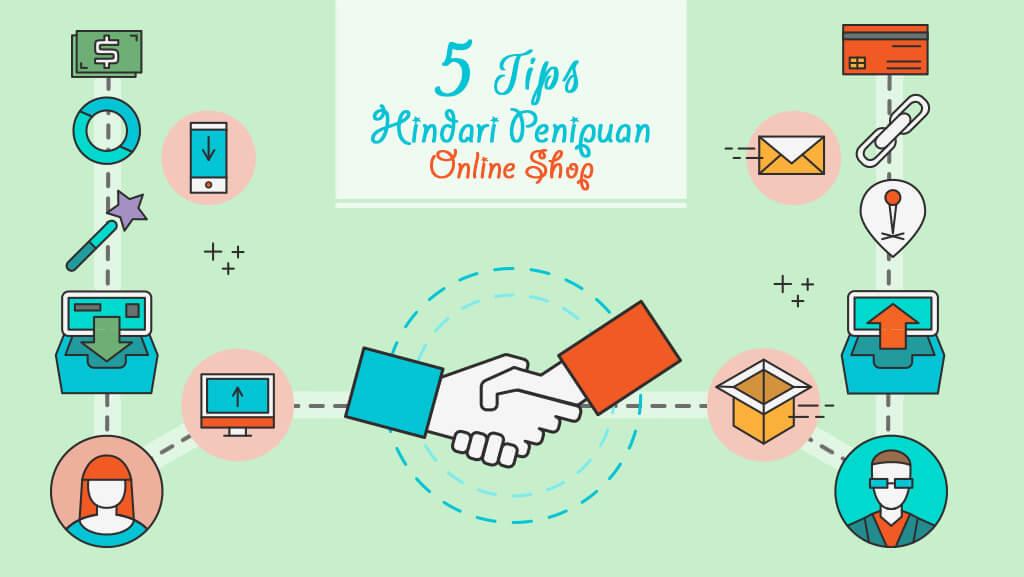 5 Tips Hindari Penipuan Online Shop Politwika